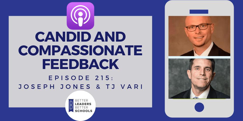 Dr. Joseph Jones & Dr. TJ Vari: Candid and Compassionate Feedback