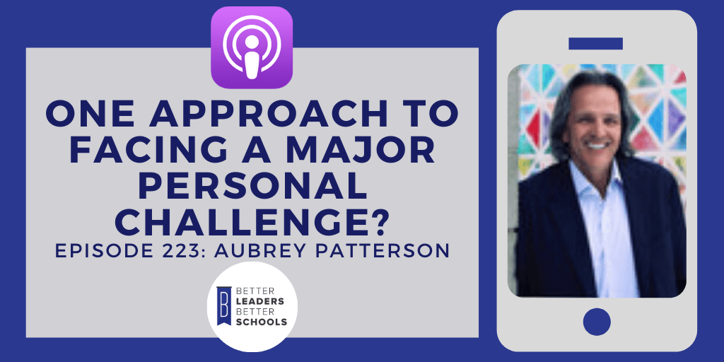 Aubrey Patterson: One Approach to Facing a Major Personal Challenge?
