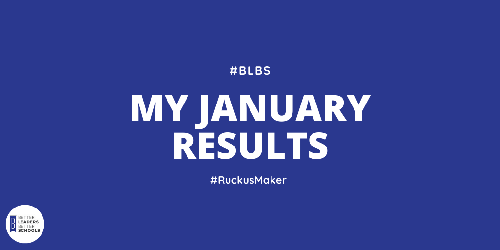 My January 2020 Results