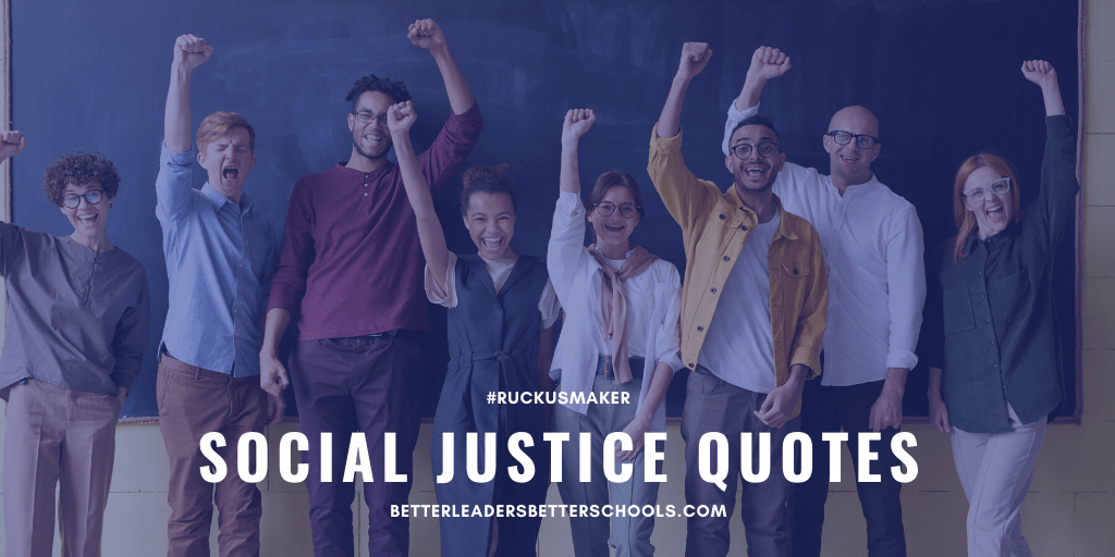 Five Fabulous Social Justice Quotes