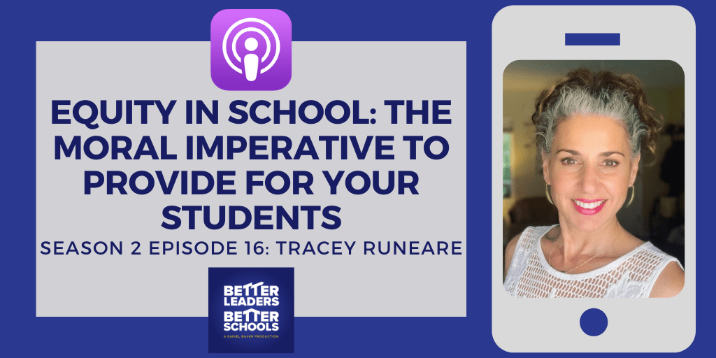 Tracey Runeare: Equity in school: The moral imperative to provide for your students