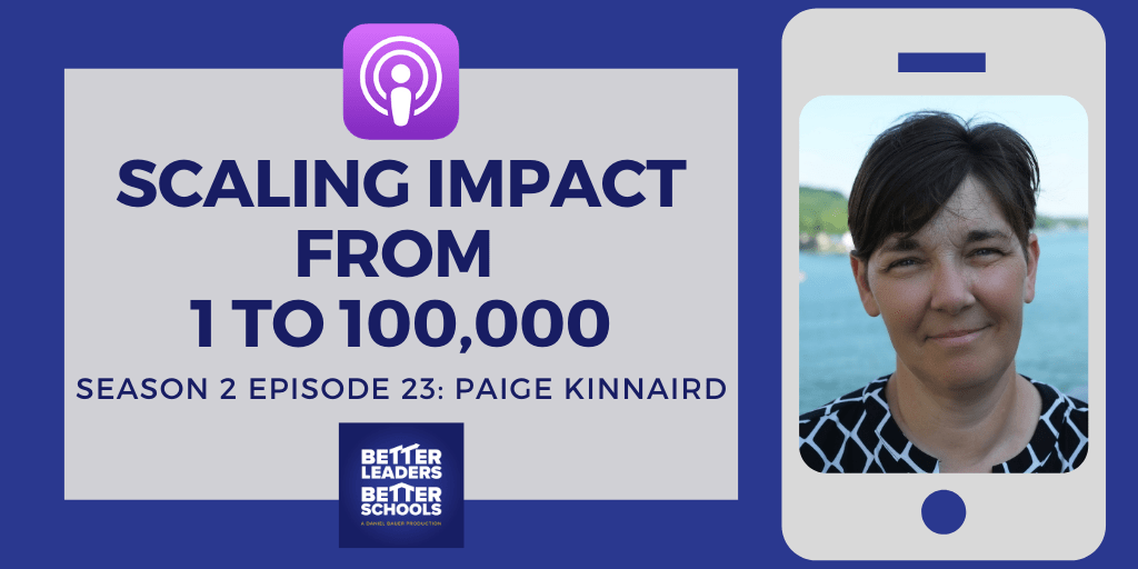 Paige Kinnaird: Scaling impact from 1 to 100,000