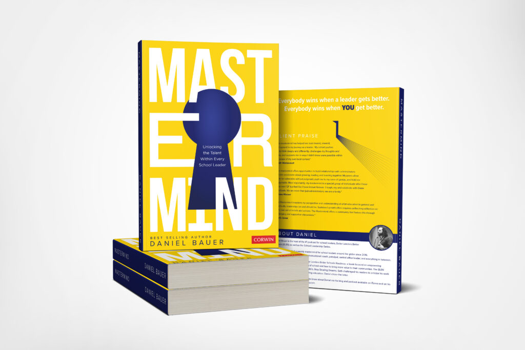 Mastermind mockup book cover