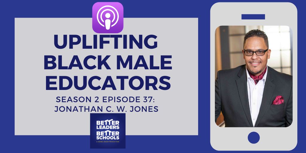 Jonathan C. W. Jones: Uplifting black male educators