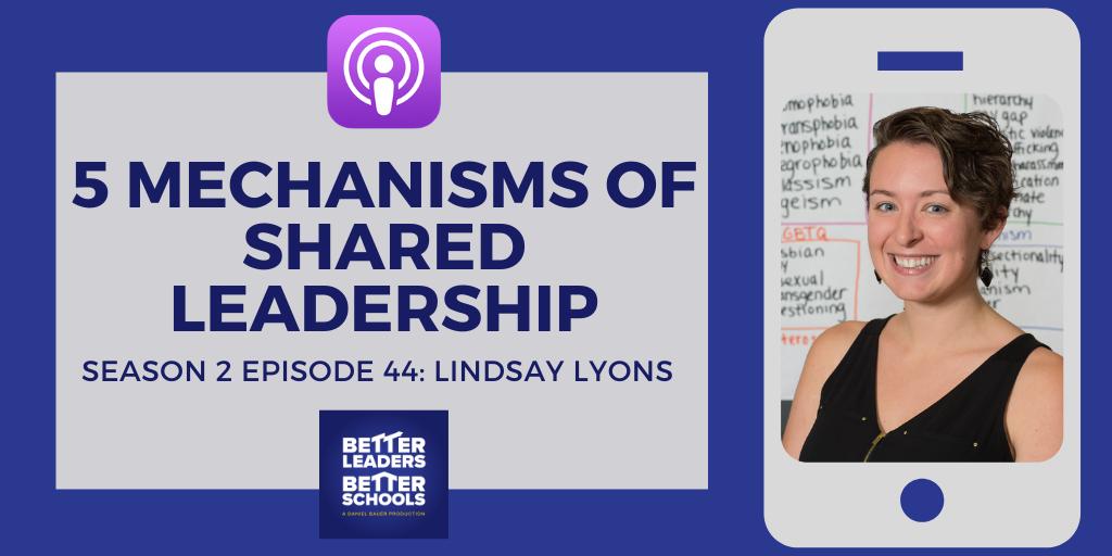Lindsay Lyons: 5 Mechanisms of shared leadership