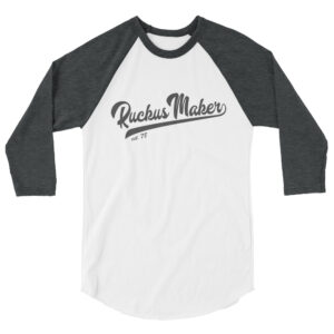 Ruckus Maker Baseball Shirt