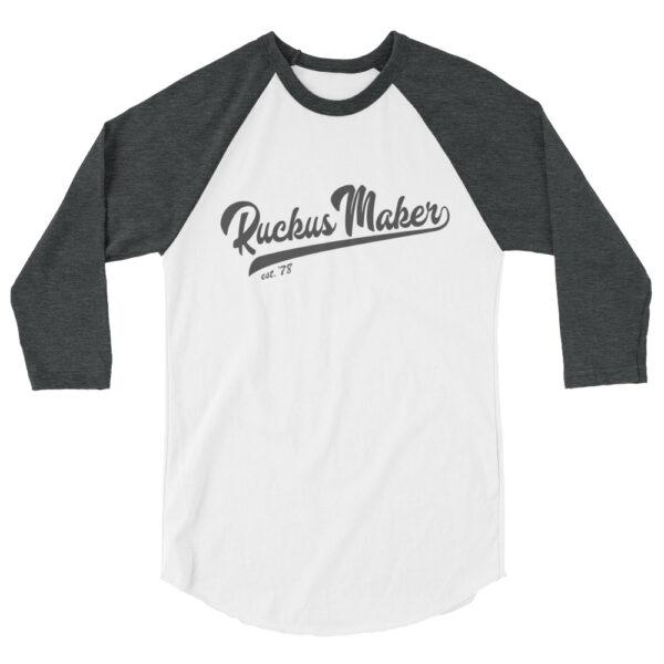 Ruckus Maker Baseball Shirt