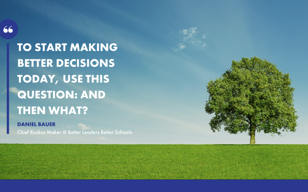 How to make better decision by using a decision tree